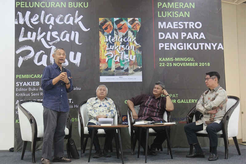 Forum Tracking Fake Paintings and Exhibition Maestro and Their Epigon held at Ciputra Artpreneur