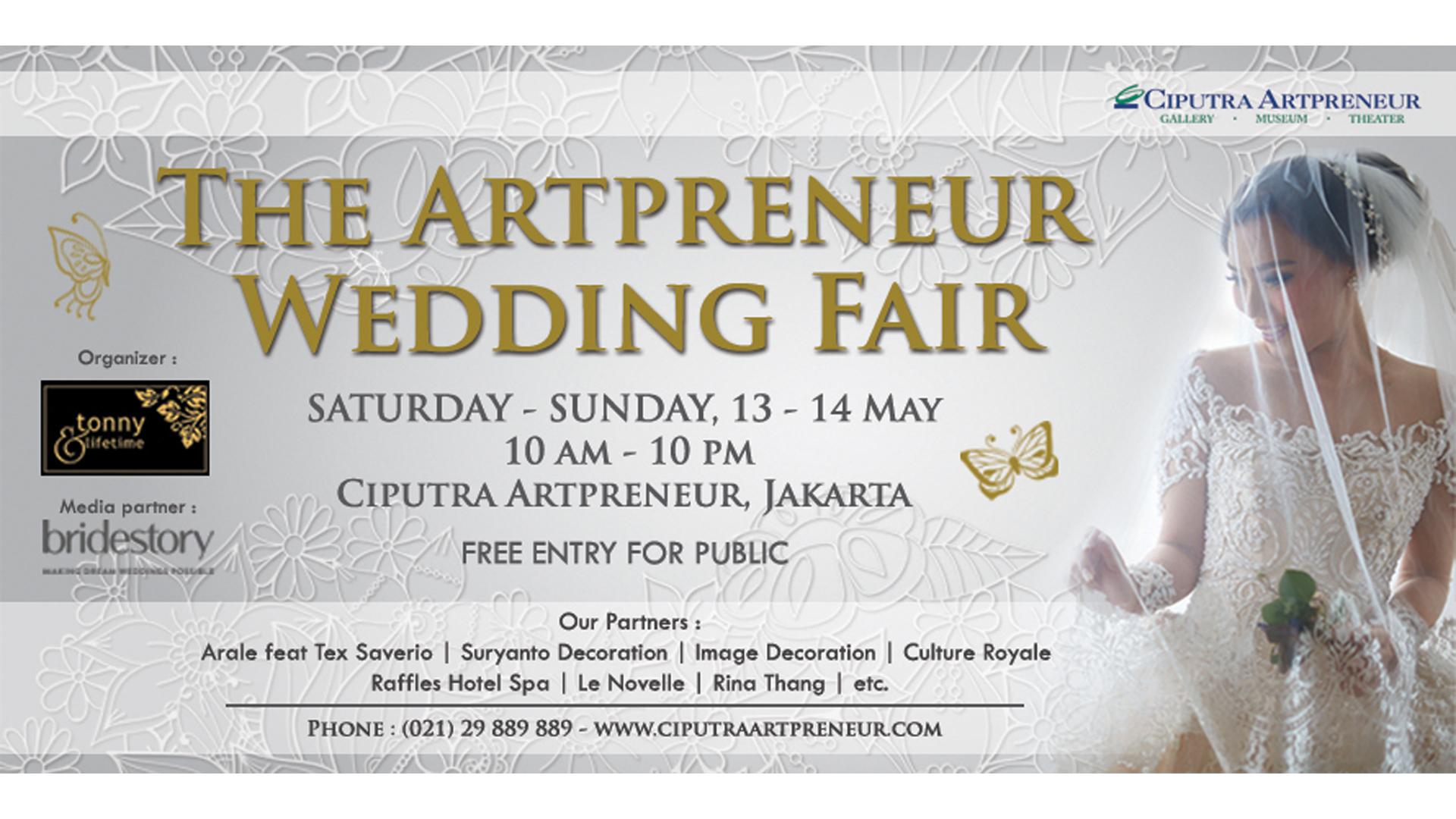 The Artpreneur Wedding Fair