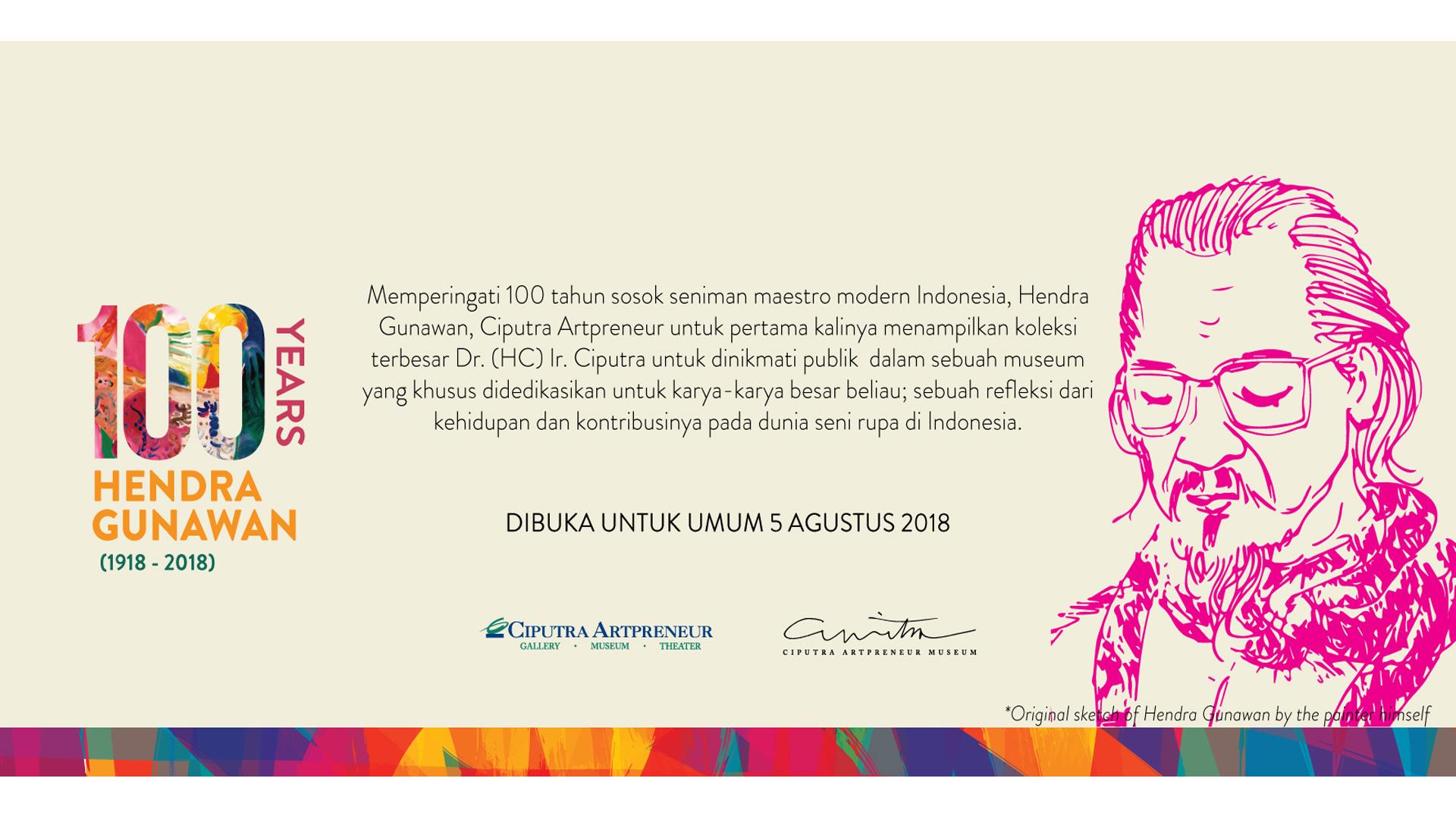 100 Tahun Hendra Gunawan