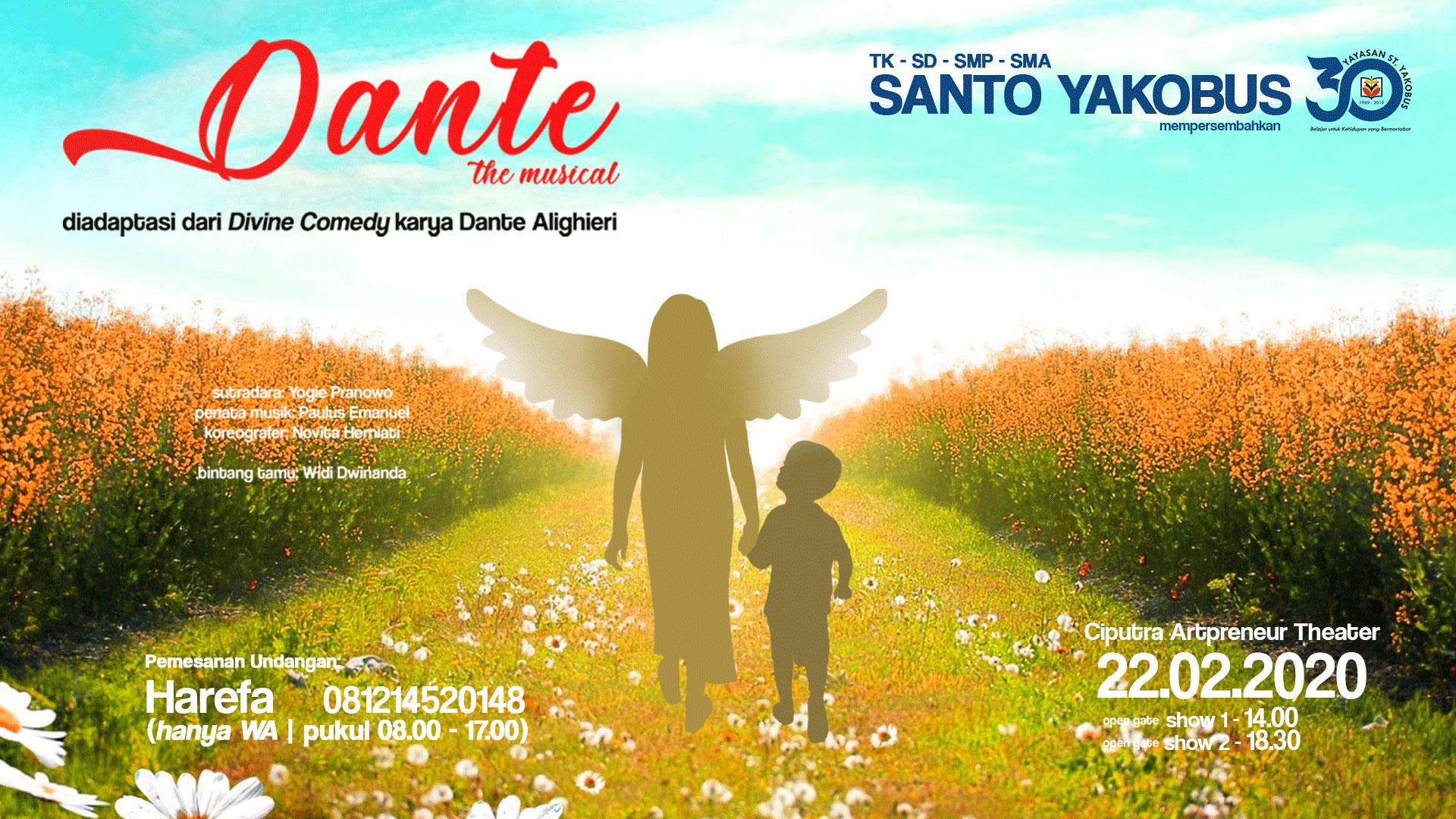 Dante The Musical By Santo Yakobus School