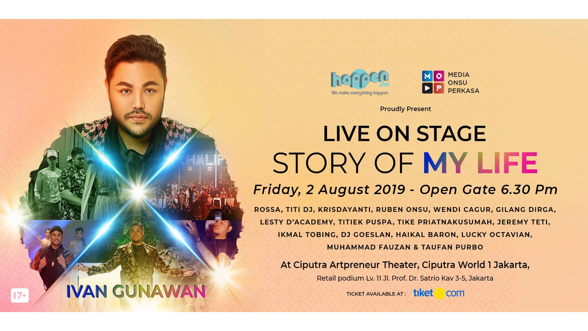 Ivan Gunawan Live On Stage
